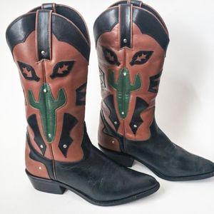 🌵Acme Cactus Cowboy Boots🌵